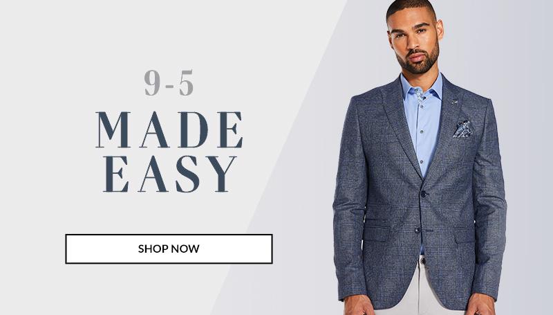 Shop men's clothes, shirts, jackets, trousers and more | QUIZMAN